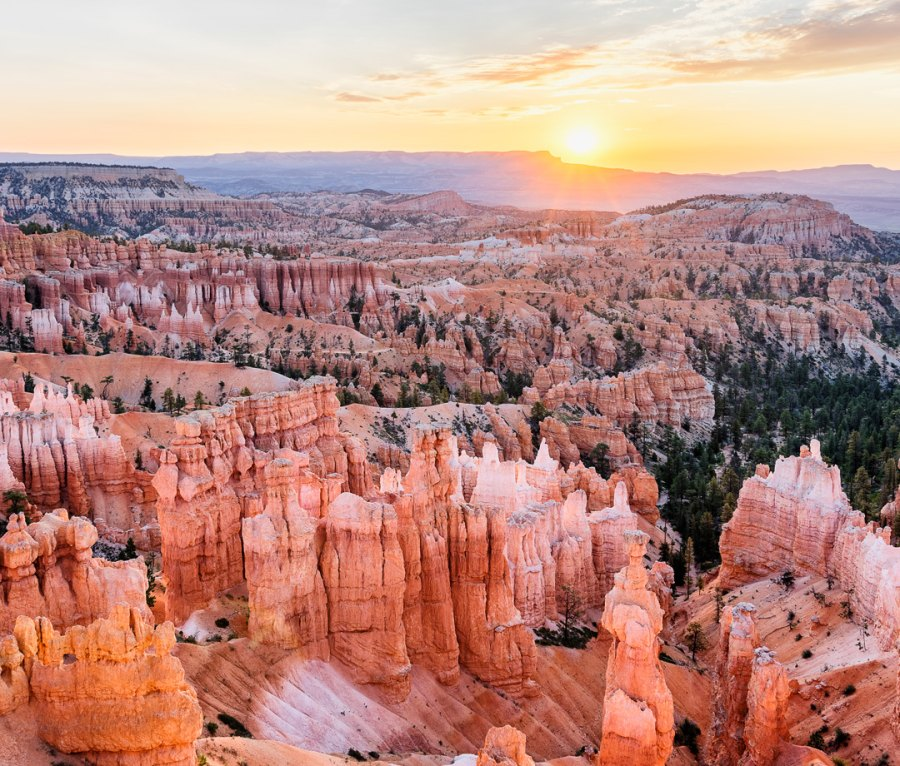 Bryce Canyon National Park amphitheater