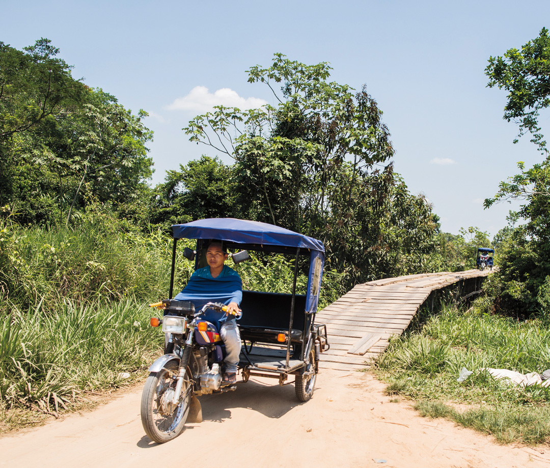 The Shipibo-Conibo village of Victoria Gracia, in the remote Ucayali region of northeastern Peru, is about an hour from the nearest city by rickshaw.