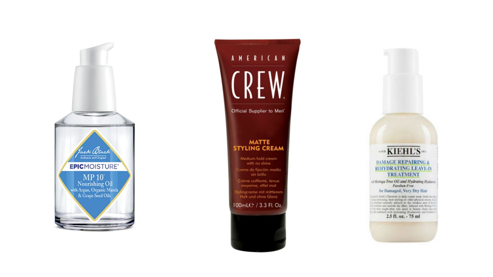 The Best Men S Hair Care And Styling Products For Dry Hair