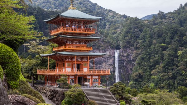 Seiganto-ji Temple and Nachi Falls