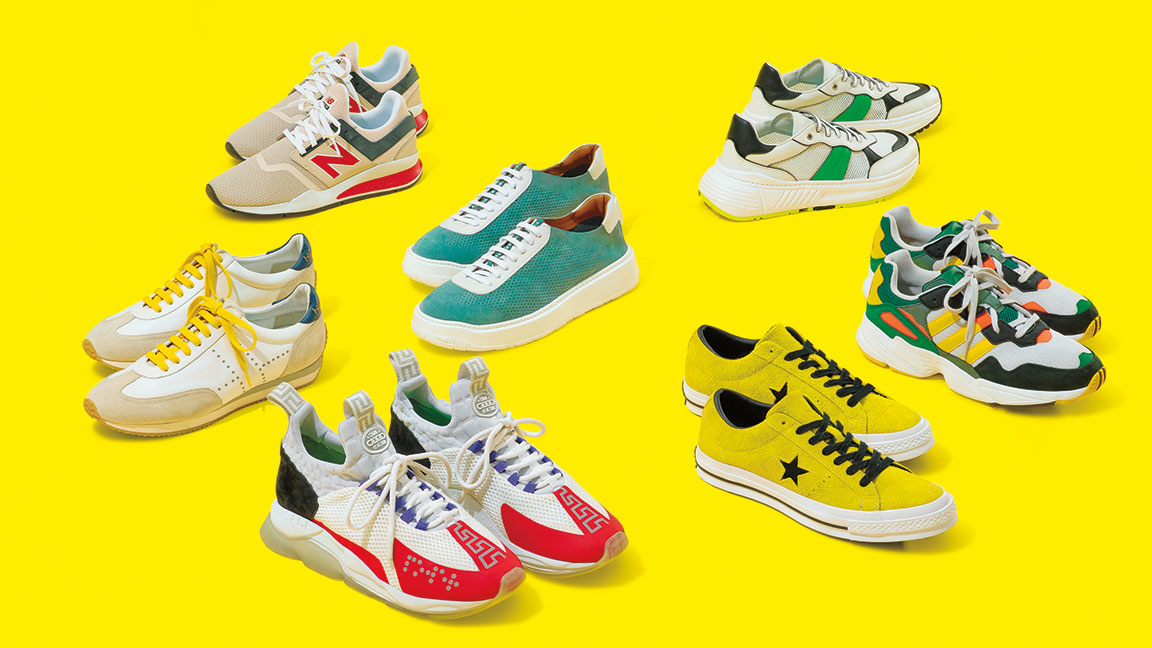 The 7 Best Bright Mens Sneakers To Wear This Spring