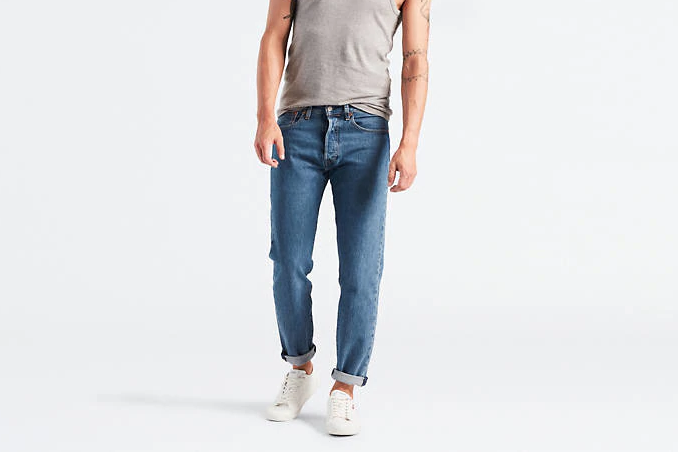 Levi 501 Slim Tapered