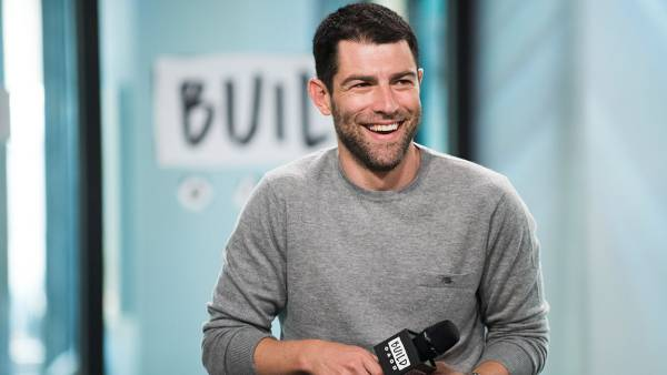 Max Greenfield attends AOL Build Series to discuss his new film 'The Glass Castle' at Build Studio on August 9, 2017 in New York City. (Photo by Jenny Anderson/WireImage)