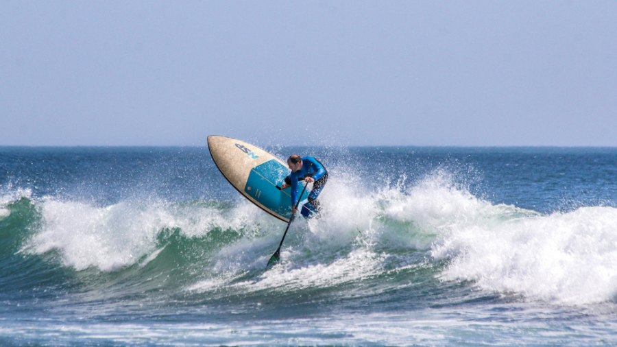 SUP Surfboard Review: NSP's DC Surf Wide