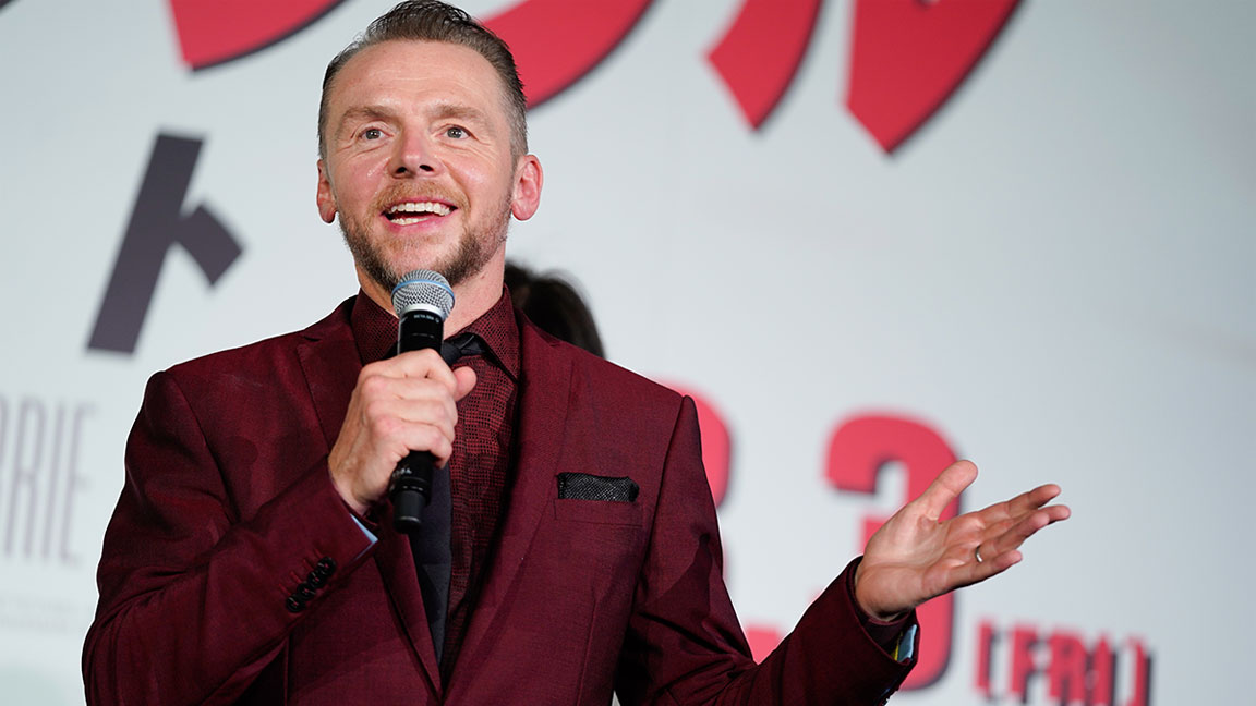 Simon Pegg's Dramatic Body Transformation Will Make You Want to Hit the Gym