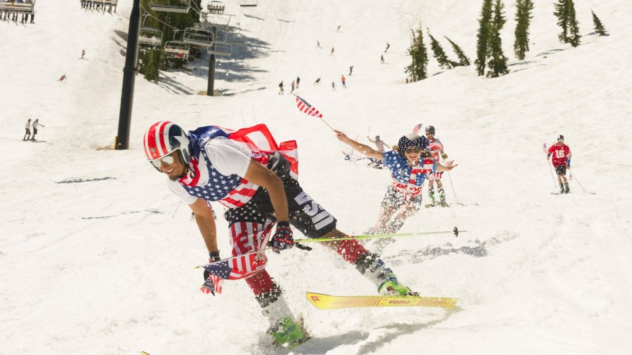 Closing Day Ceremony at Squaw Valley, California