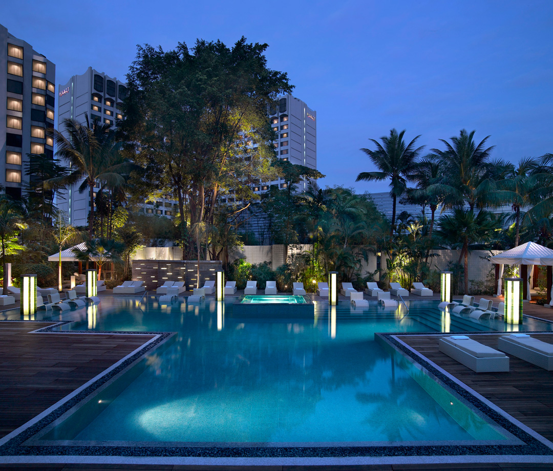 Pool at Grand Hyatt