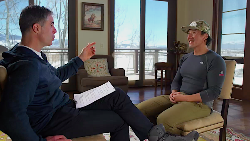 """Jimmy Chin Shares the """"Burden"""" of Filming 'Free Solo' on HBO's 'Real Sports'"""