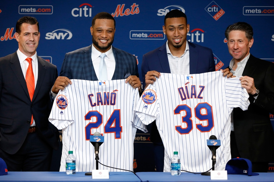 Brodie Van Wagenen, Mets GM with Robinson Cano and Edwin Diaz