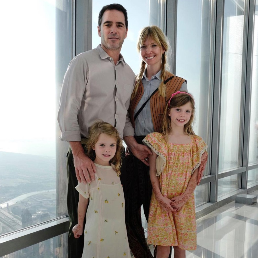 NASCAR Driver Jimmie Johnson and family