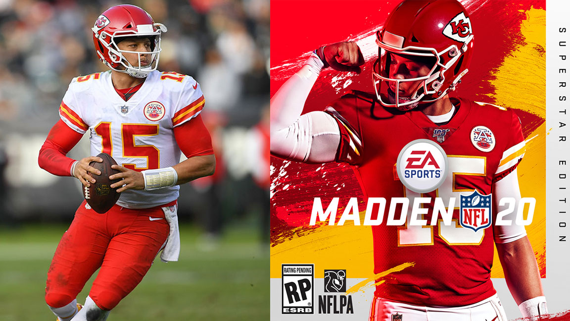 Patrick Mahomes On Making The Madden Cover And Winning The