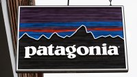 VAIL, CO - JUNE 9, 2017: A sign hangs over the entrance to the Patagonia outdoor clothing shop in Vail, Colorado. The retail chain is based in Ventura, California. (Photo by Robert Alexander/Getty Images)