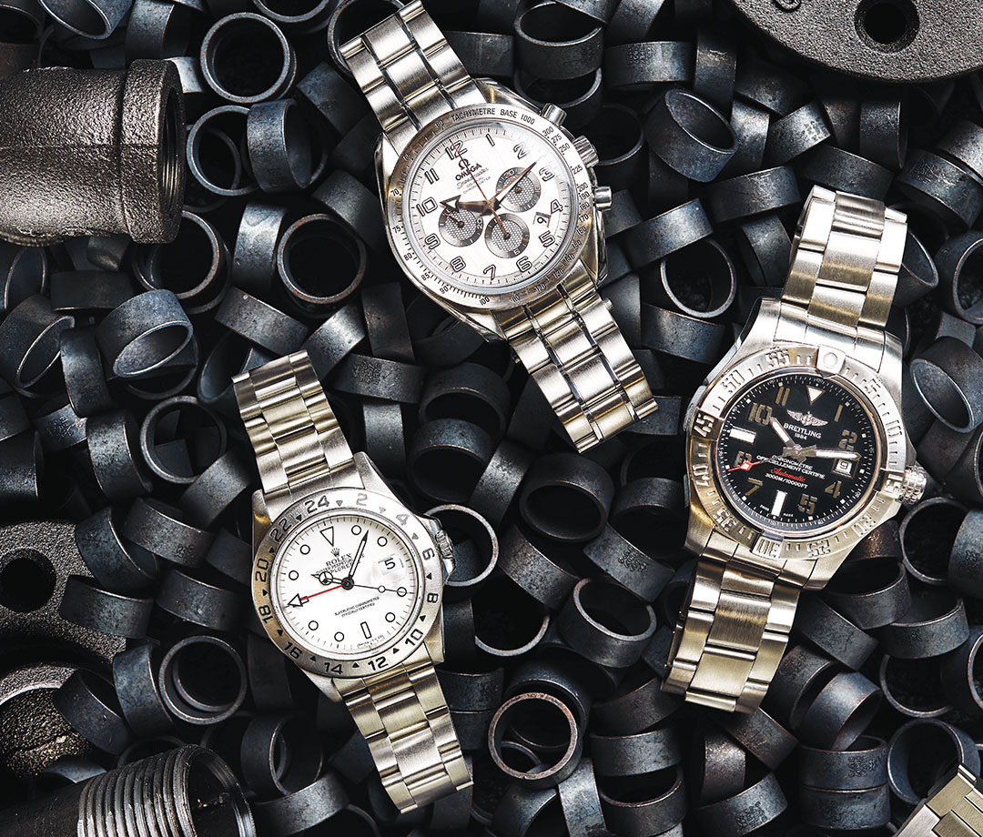 pre-owned watches can cost as much as $  50,000