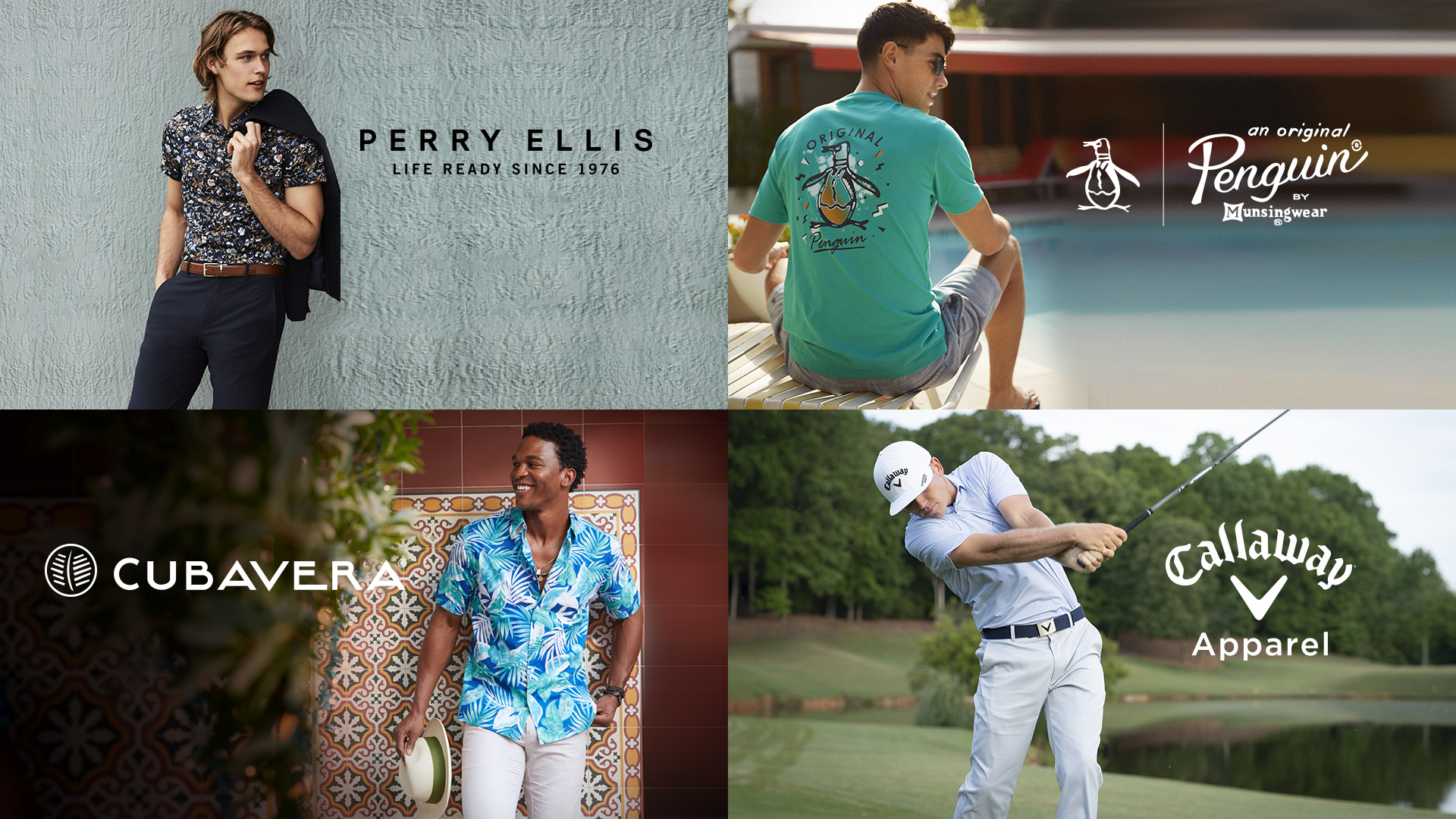 Top Gifts for Dad from Perry Ellis, Original Penguin, Callaway, and Cubavera
