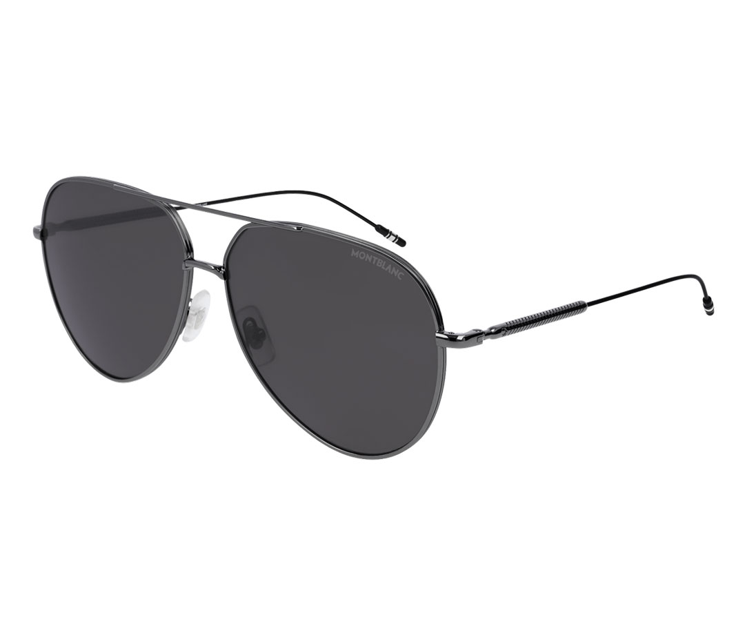 Montblanc Aviator Frame Metal Sunglasses