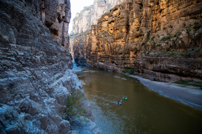 An Endless Summer Paddling Tour From Big Bend, TX to Rainbow Springs, FL