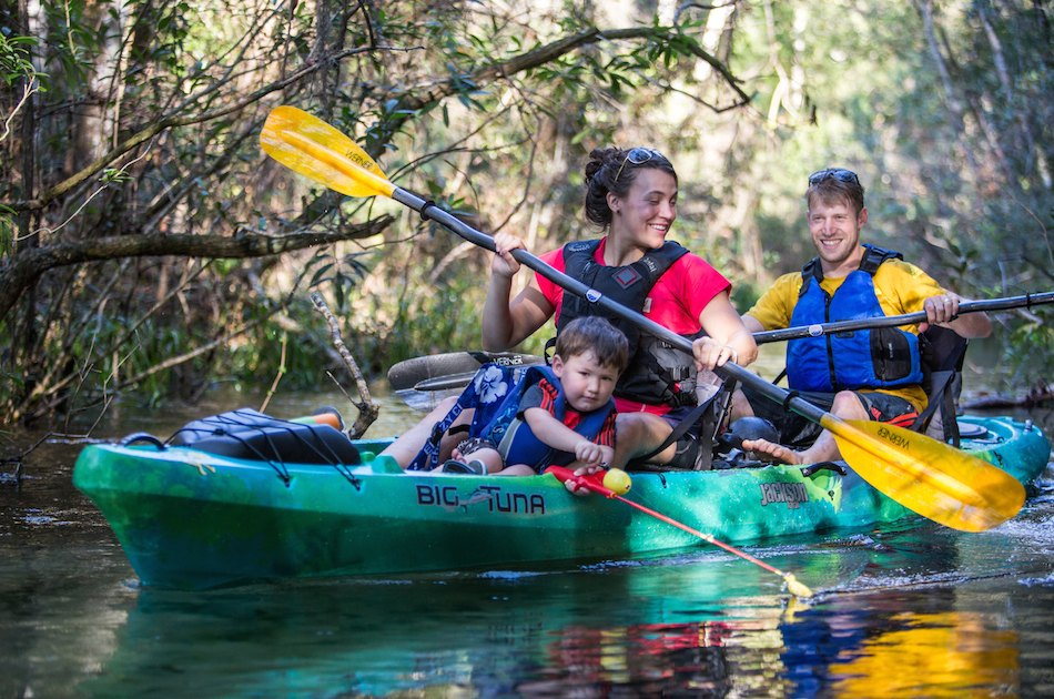 A Paddling Road Trip From Big Bend, TX to Rainbow Springs, FL