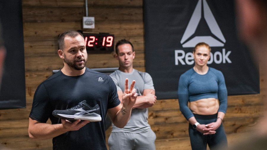 Reebok CrossFit Nano 9 launch with Rich Froning and Annie Thorisdottir