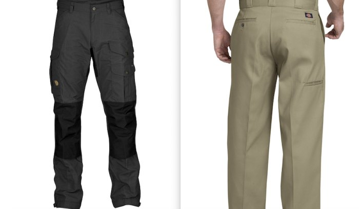 Two pairs of pants