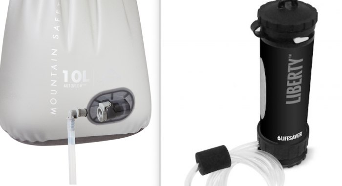 Images of a water filter