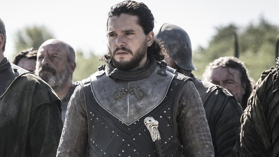 Game of Thrones star Kit Harington as Jon Snow