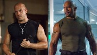 Vin Diesel and Dwayne 'The Rock' Johnson in the 'Fast and the Furious' series