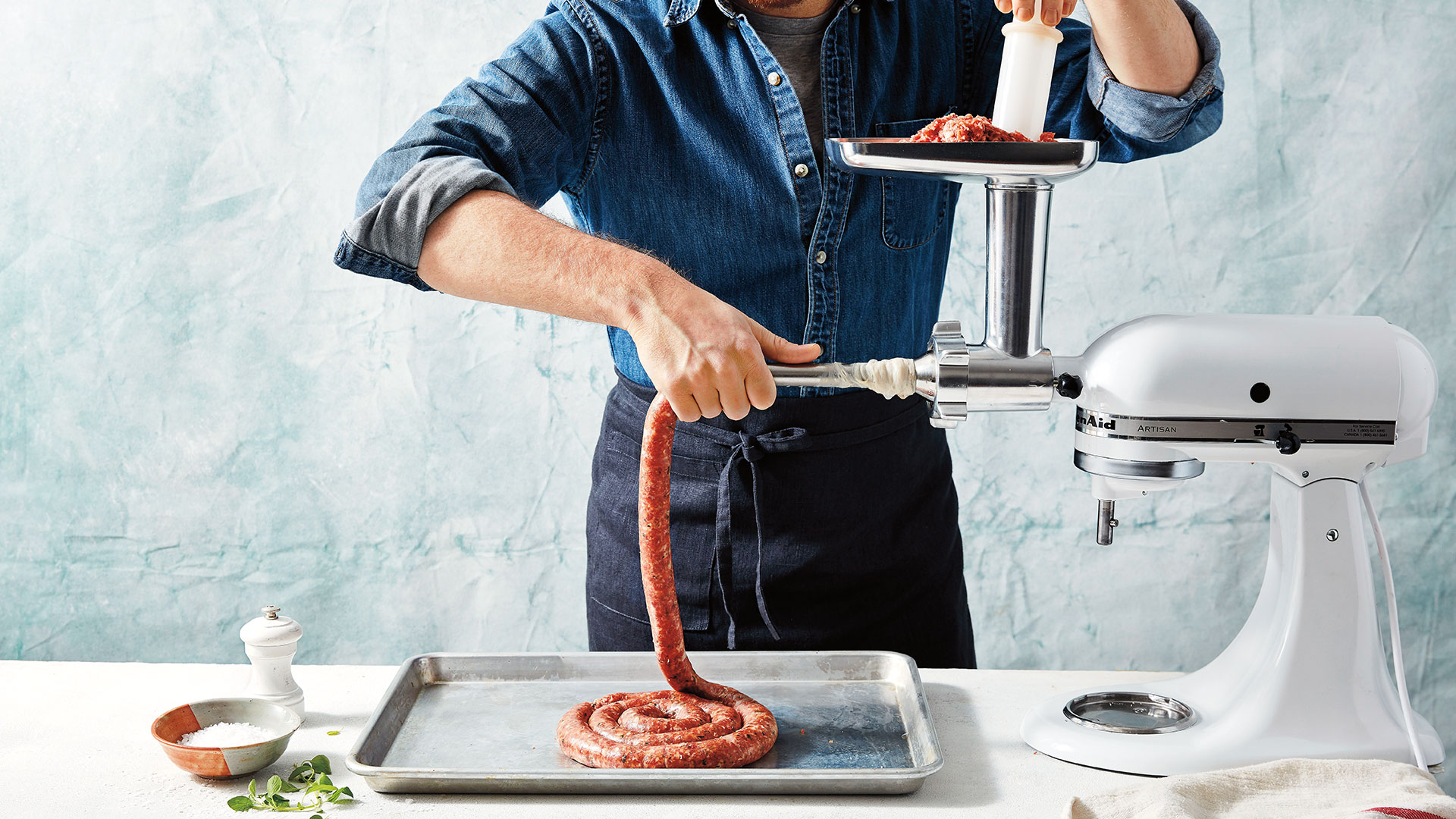 How to Make Cacciatore Sausage at Home