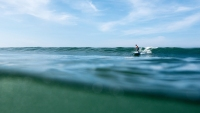 SUP surfing is a perfect way to escape the crowds.