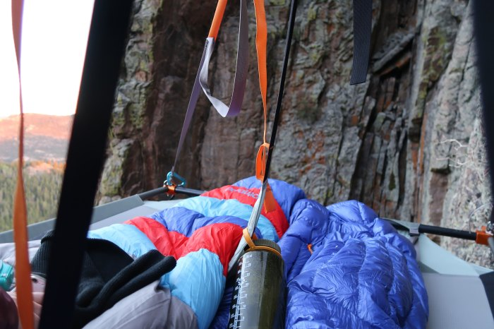 cliff camping airbnb adventures