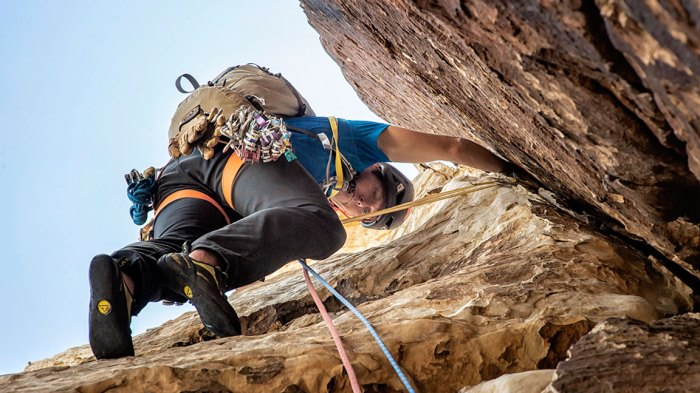Getting High with 57Hours: Multi-Pitch Climbing in Red Rock Canyon