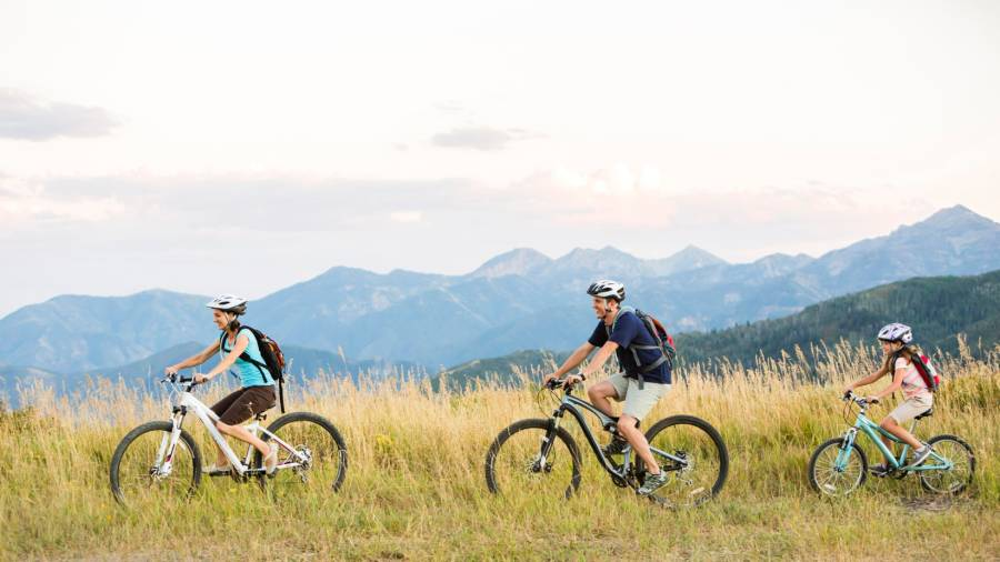family-friendly bike trips