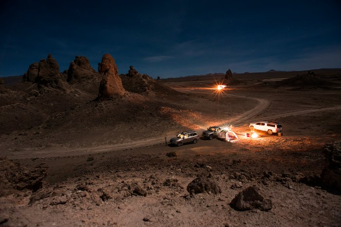 Overland Trona Pinnacles