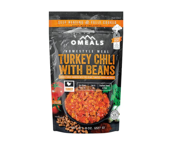 Omeals Serves Turkey Chili With Beans