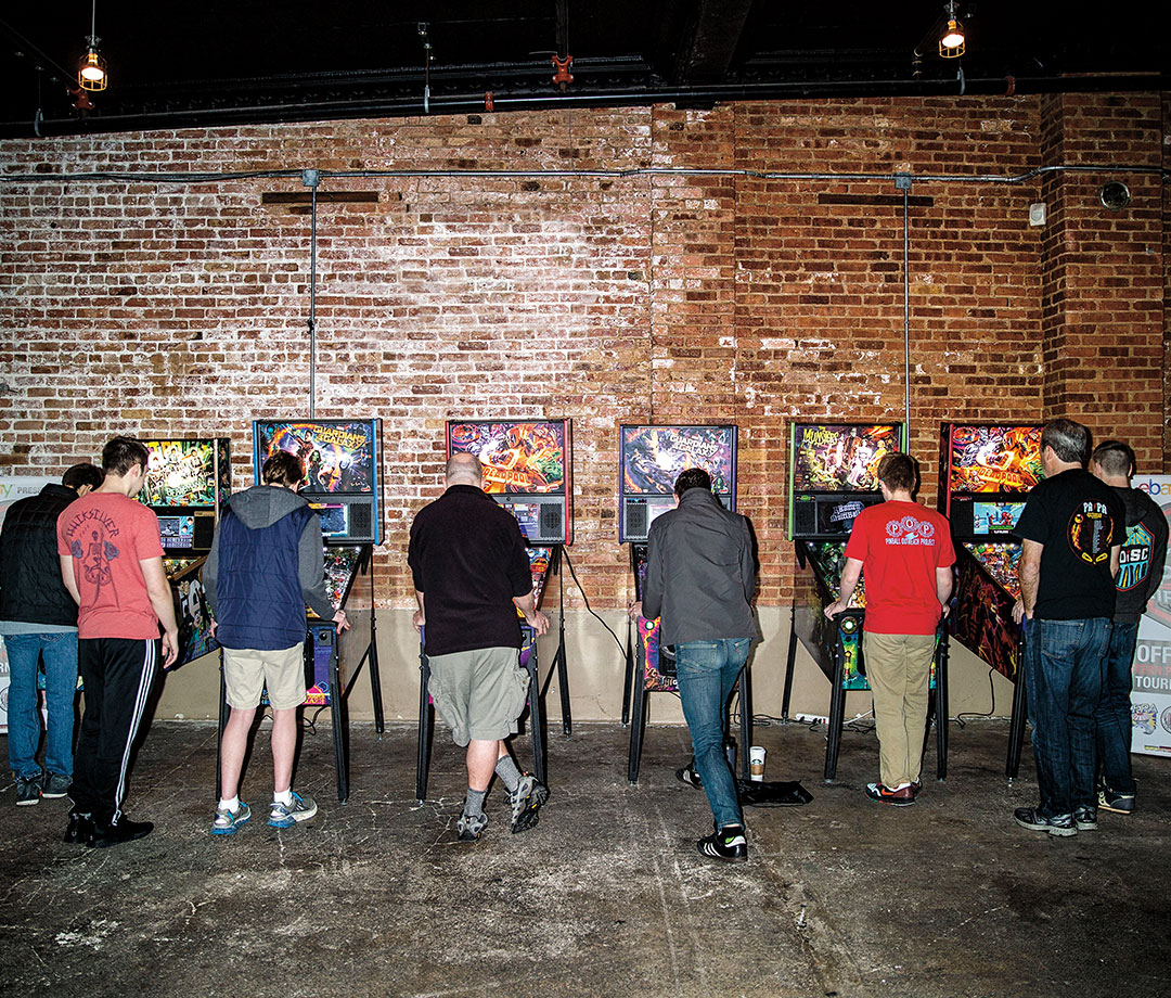 Competitive pinball players travel across the country to maintain their rankings, never mind the modest tournament prizes.