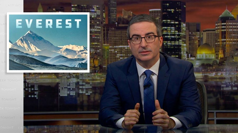 Last Week Tonight with John Oliver / HO / Screenshot / YouTube / Everest Piece