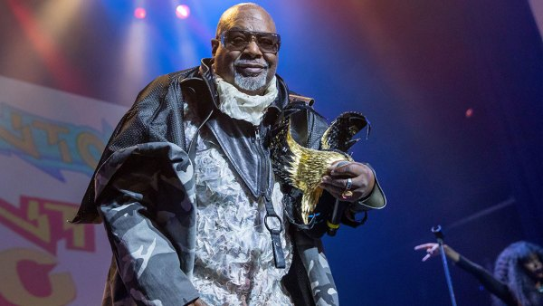 DETROIT, MI - MARCH 08: George Clinton of George Clinton And Parliament Funkadelic performs at The Soundboard, Motor City Casino on March 8, 2018 in Detroit, Michigan. (Photo by Scott Legato/Getty Images)