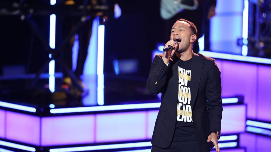 "THE VOICE -- ""Live Cross Battles Results"" Episode 1611B -- Pictured: John Legend -- (Photo by: Trae Patton/NBC/NBCU Photo Bank via Getty Images)"