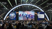 SANTA MONICA, CA - JUNE 25: View of the atmosphere at the 2018 NBA Awards at Barkar Hangar on June 25, 2018 in Santa Monica, California. (Photo by Kevin Winter/Getty Images for Turner Sports)