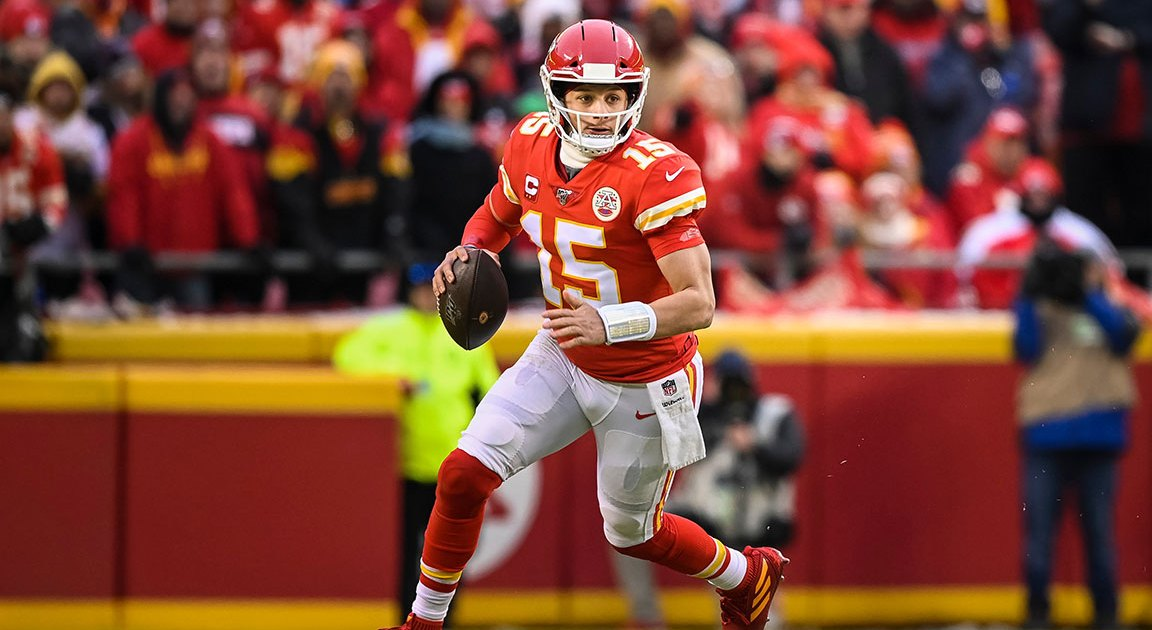 NFL MVP and Super Bowl Champion Patrick Mahomes on His Go-To Workouts and How He Makes Those Crazy Sidearm Throws
