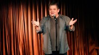 A.P. BIO -- A Night with A.P. Bio: A Charity Comedy Show -- Pictured: Patton Oswalt -- (Photo by: Evans Vestal Ward/NBC/NBCU Photo Bank via Getty Images)