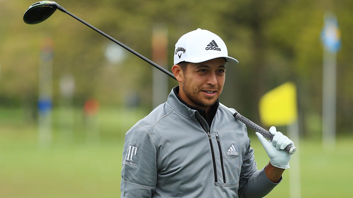 Xander Schauffele Talks Playing the U.S. Open, His Go-to Workout, and Wearing the First-Ever Upcycled Golf Shoe