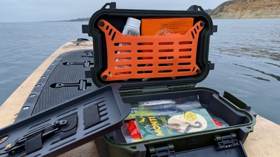 The Pelican Ruck is great for organization.