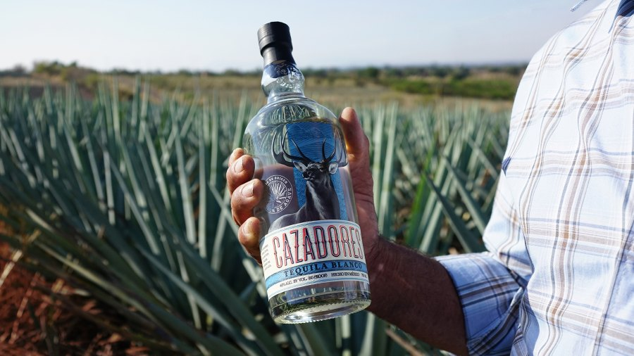 Blanco tequila from Cazadores