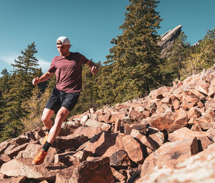 Mike Chambers training for Denali in Colorado