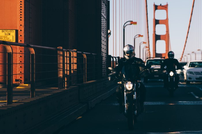 Golden Gate Motorcycle