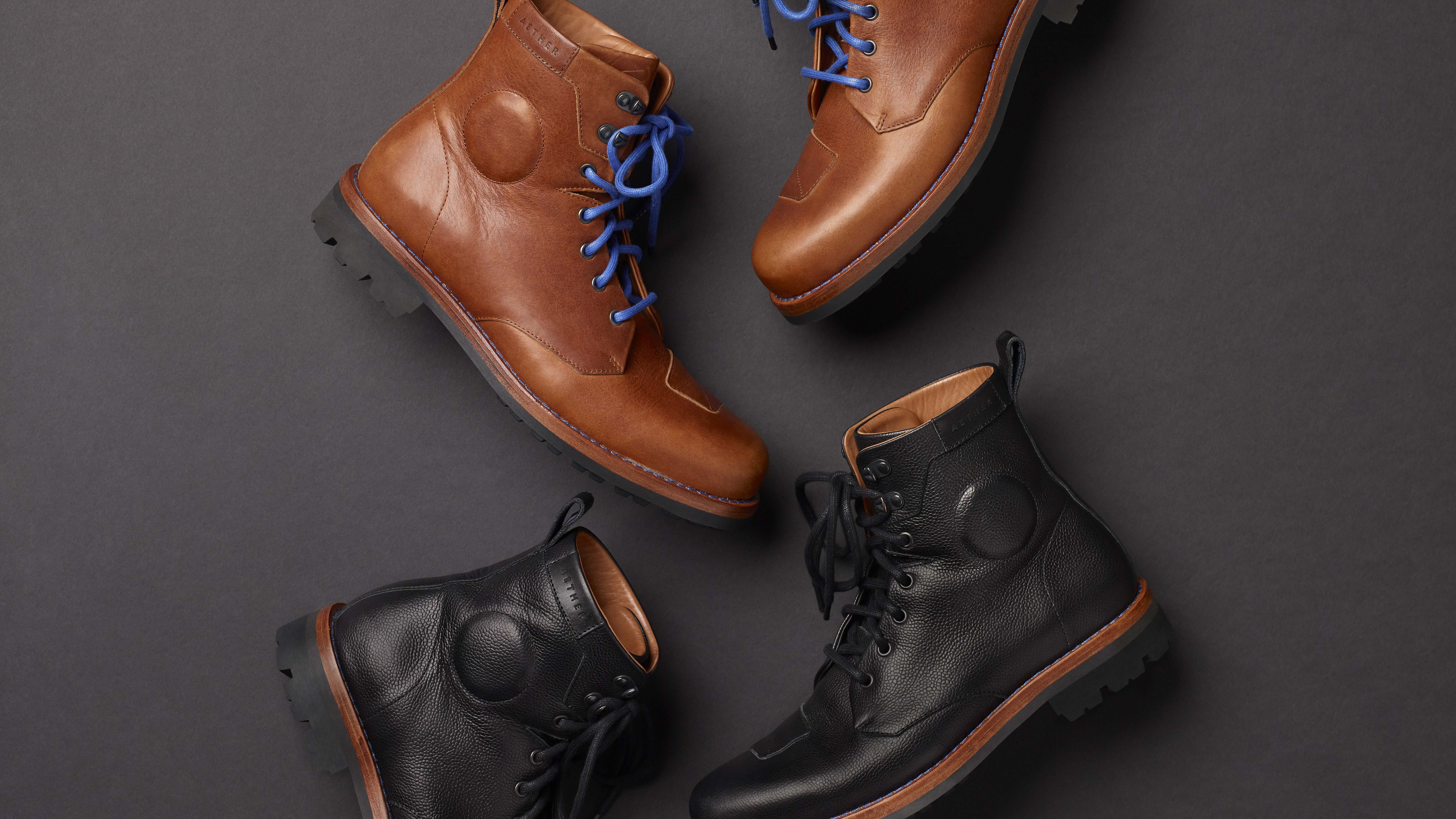 The Aether Motorcycle Boots That Are Stylish Enough For The Office