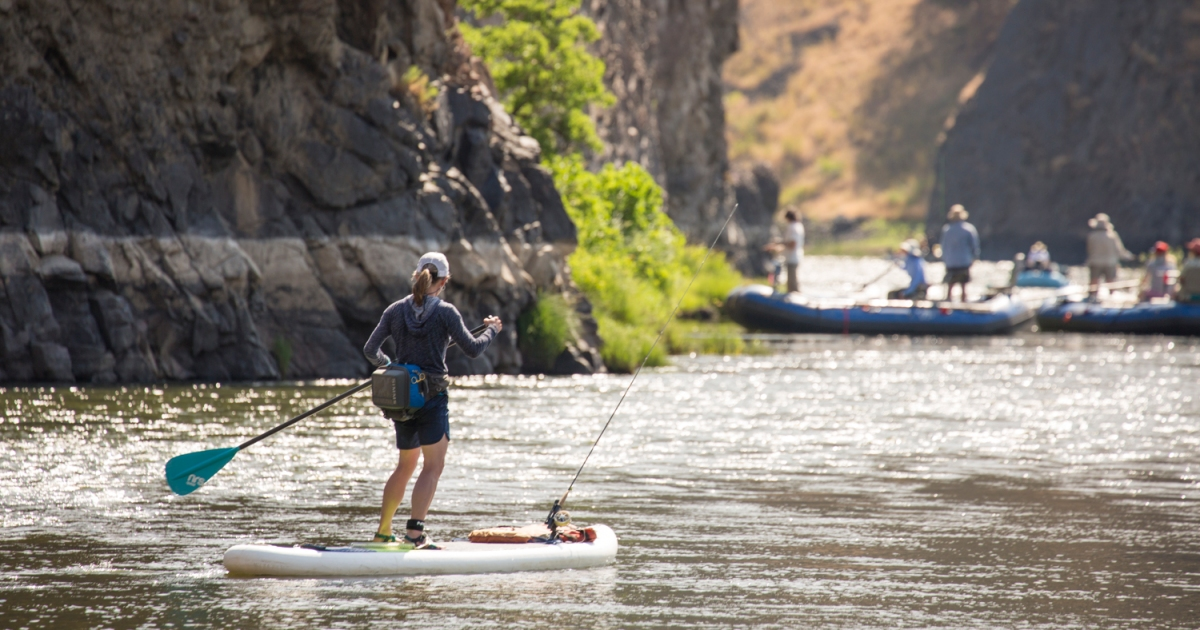 Everything You Need to Know to Get Into Freshwater SUP Fishing