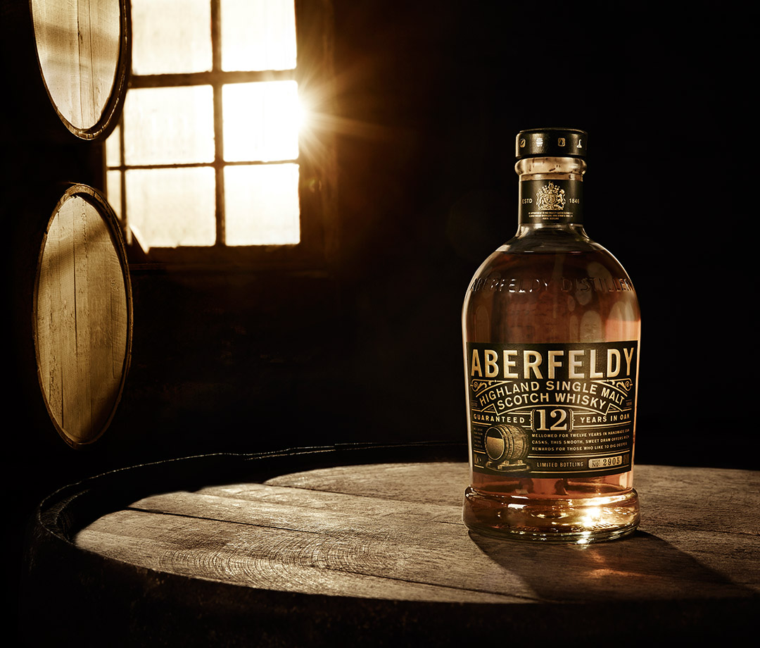 Aberfeldy 16 Year, a single-malt Scotch whisky