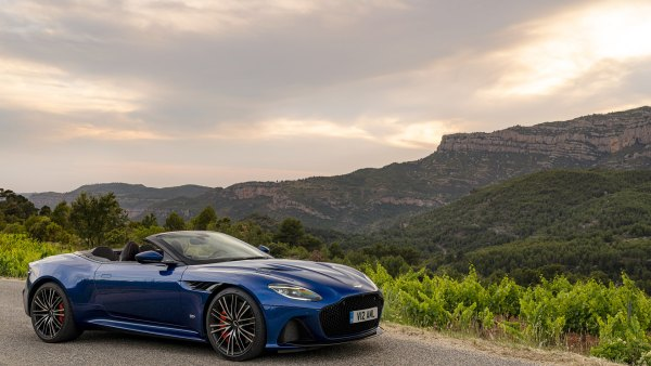 The 2020 DBS Superleggera Volante from Aston Martin