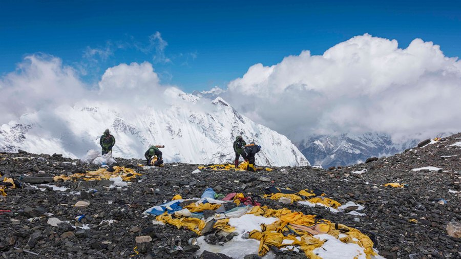 Bally's May 2019 expedition on Mount Everest
